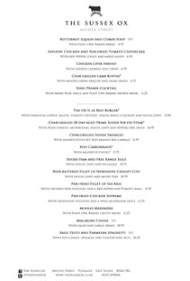 Click to view today's menu